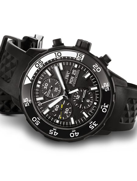 The IWC Aquatimer Galapagos Men's Chronograph Watch