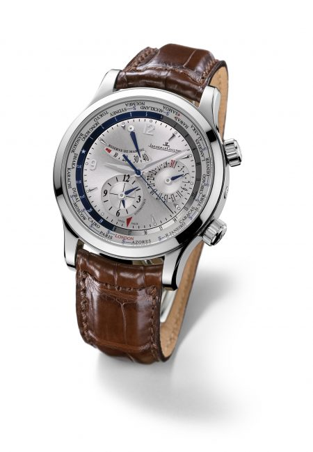 Jaeger-LeCoultre's Master World Geographic Men's Watch – All Places, All the Time