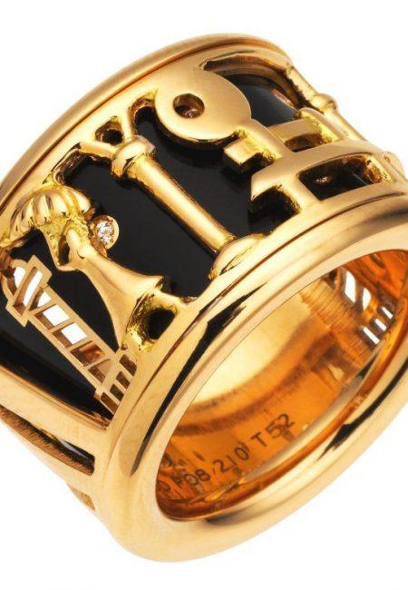 The Van Cleef & Arpels Une Journee a Paris Ring