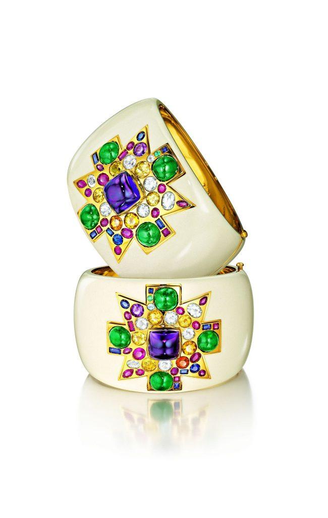 Verdura's Coco Chanel Maltese Cross Cuff Bracelets – A Historic Design, Modernized