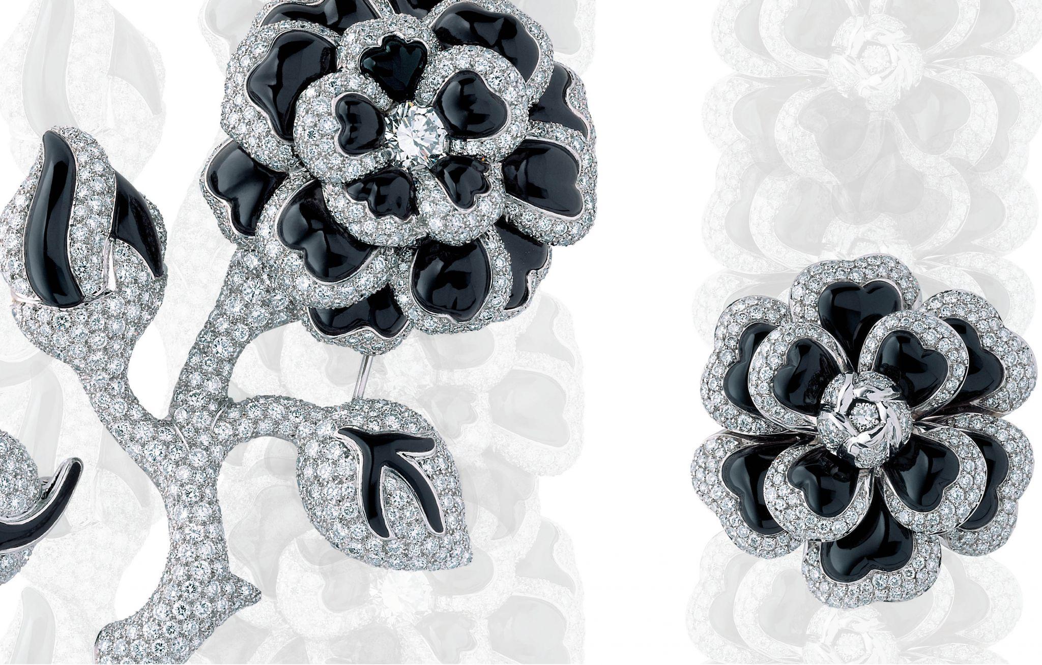 Chanel Camellia Onyx Ring Price
