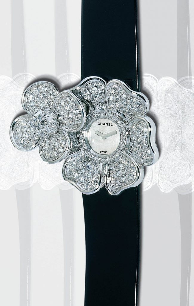 Chanel's Iconic Camellia Jewelry and Diamond Ladies Watch