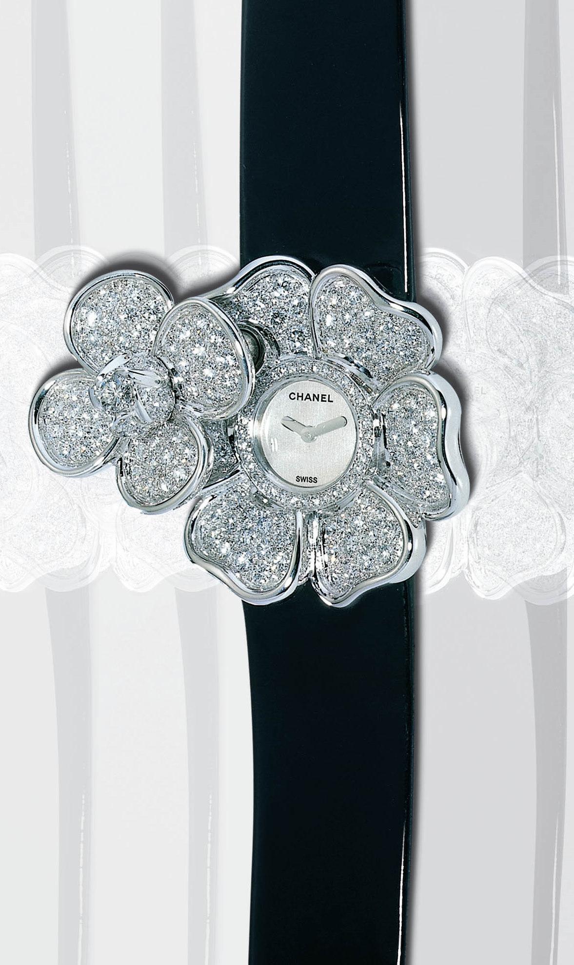 Chanel Camelia Diamond Ring