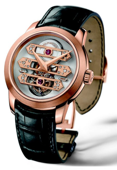 Girard-Perregaux's Newest Golden Bridges Tourbillon Men's Watch Melds Beauty with Function