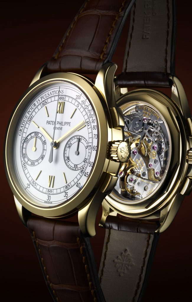 Patek Philippe's Chronograph 5170J Watch – An In House Movement with an Exhibition Caseback