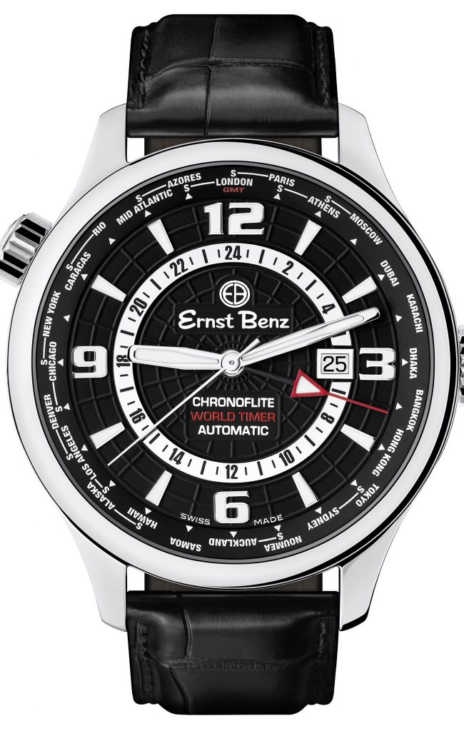 The Ernst Benz Chronoflite World Timer Watch – An Untraditional Take on a World Time Zone Watch