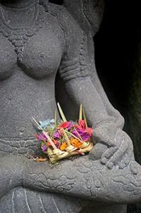 Hindu offering basket Bali basket