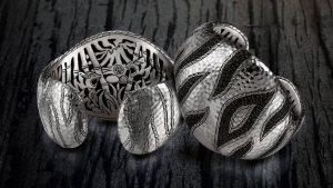 john hardy tiger diamond and black sapphire bracelets