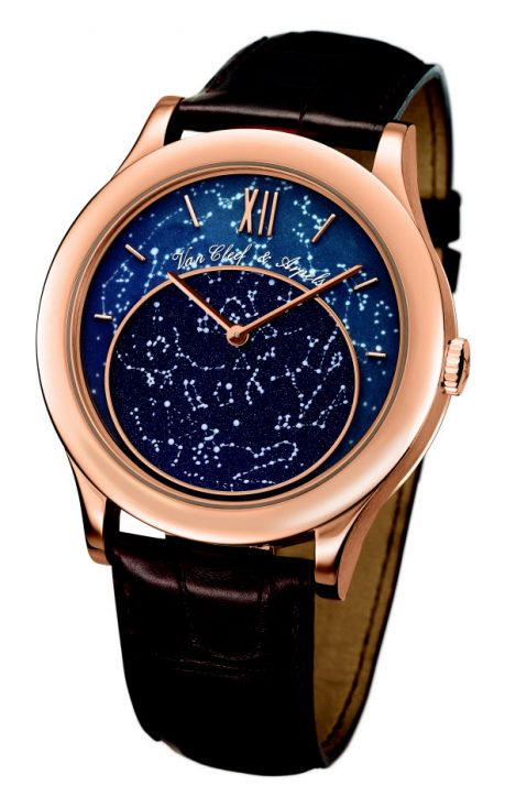 Van Cleef and Arpels Midnight in Paris Poetic Complication Watch for Stargazers and Space Cowboys