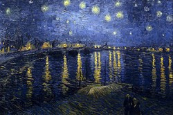 300px Starry Night Over the Rhone 250x166 Van Cleef and Arpels Midnight in Paris Poetic Complication Watch for Stargazers and Space Cowboys