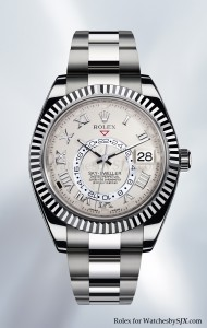Rolex Sky Dweller white gold Baselworld 2012 1 190x300 Rolexs Big Basel Reveal   The Sky Dweller Watch   First New Movement in 25 Years!