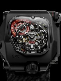 Urwerk's new EMC TimeHunter X-Ray