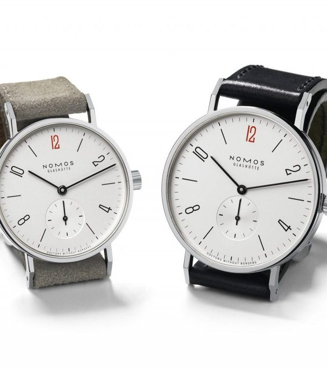 NOMOS Glashutte for Doctors Without Borders